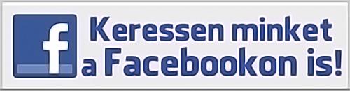 Keressen minket Facebookon is!