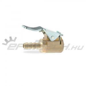 Gumiabroncs nyomásmérő-kerékfúvató-hoz szelepes töltőfej 6-os kicsi