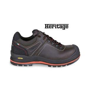 7293 HM Heavy Duty Faggyúzott full-grain bőrcipő nagyteljesítményű VIBRAM® talpfelülettel, kopásálló betéttel a saroknál, és poliuretán orrvédővel 43