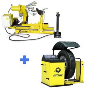 """Teher kerékszerelő (14-26"""") + kerékkiegyensúlyozó gép BOOST GEAR"""