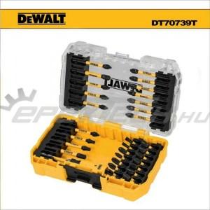 """Bit készlet 31 db-os + 1/4"""" adapter gépi, torziós, FLEXTORQ  - Dewalt (DT70739T)"""