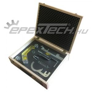 Vezérlésrögzítő BMW, Mini N47 N57 1.6 2.0 3.0, habszivacs szerszámtartó betétes fadobozban