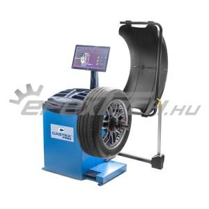 Automata centírozó kerékkiegyensúlyozó gép, lézeres, nagyméretű LED kijelző, 24 coll