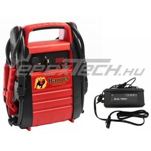 Akkumulátor bikázó-indító (starter) 12 V -4600A - 23Ah Személy (PB12)