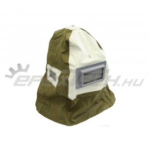 Homokfúvó géphez fejvédő sisak (Kámzsa) (XH-SBH)