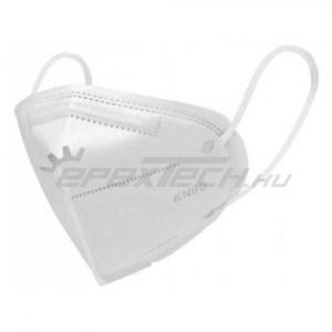 Légzésvédő maszk - FFP2 - KN95 szelep nélkül - fülpánttal (XHH-KN95) RAKTÁRON !