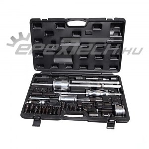 Injektor és porlasztócsúcs kihúzó, 40 db-os, Bosch, Denso, Delphi, Siemens