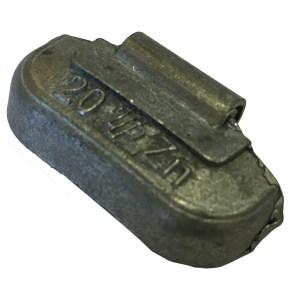 Centírozó súly acél felnikhez, felüthető, 20g
