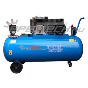 Dugattyús kompresszor, 200 l, 2,2 kW, 10 bar