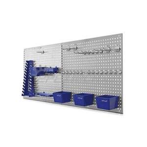 Szerszámtartó panel - perforált fal - kiegészítőkkel és kampókkal (RB1100)