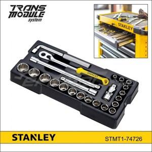 """Stanley tálcás dugókulcs klt. 1/2"""" 12* 23 részes"""